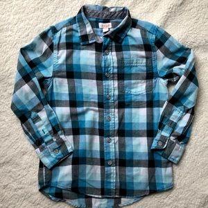 Black & Blue(s) Flannel
